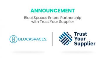BlockSpaces Enters Partnership with Trust Your Supplier